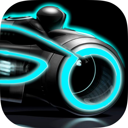 A Neon Race PRO – 3D motorcycle highway lane turbo chase game: multiplayer drive  high  track bike racing