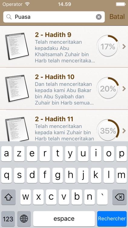 Sahih Muslim in Indonesian Bahasa and in Arabic (Lite) - + 5300 Hadiths - صحيح مسلم screenshot-3