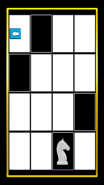 A White Chess Piece Speed Test : Touch Black Tile Only Free