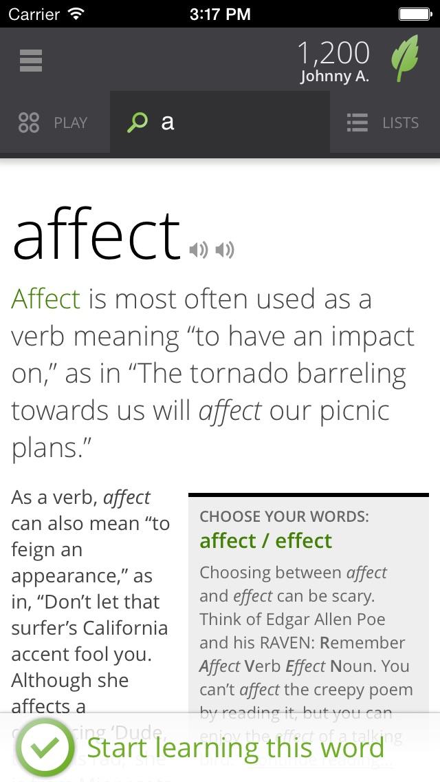 Vocabulary.com app image