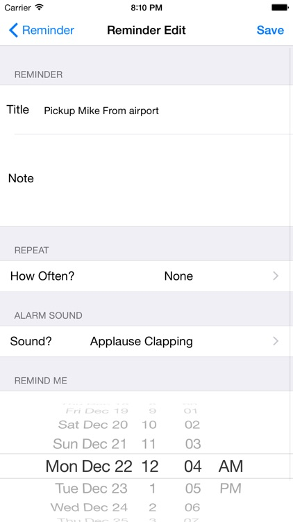 Reminder Plus To-Do List - Tasks for iPhone, iPad, iPod & Watch screenshot-4