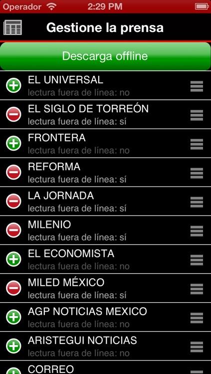 Periódicos Mexicanos screenshot-4