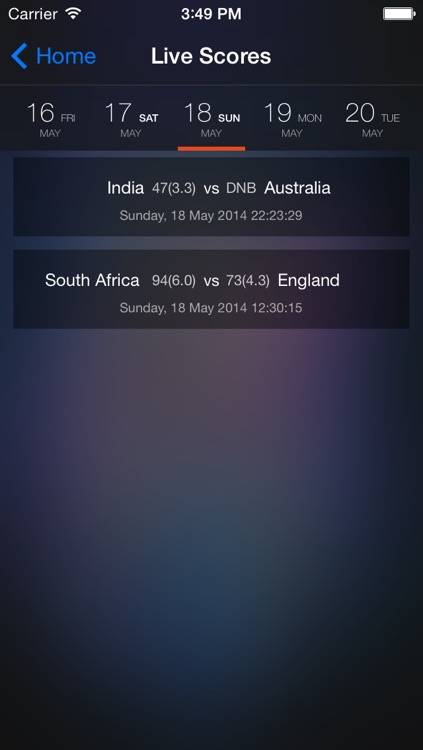 Score Cricket screenshot-3