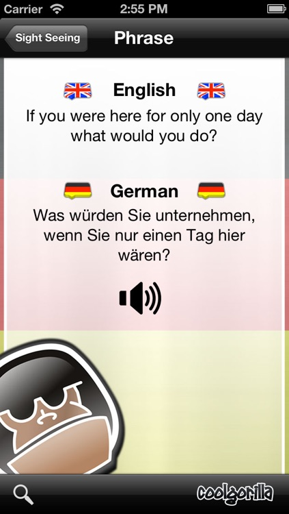 German Talking Phrasebook screenshot-3