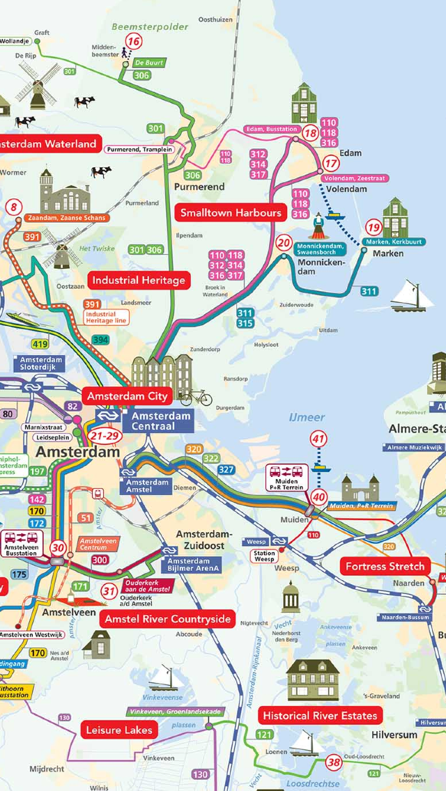Amsterdam Map offline- Pocket Netherland Holland Amsterdam Travel Guide with offline GVB Amsterdam Metro Map, Amsterdam Bus Routes Map, NS Trains, Amsterdam Maps, Amsterdam Street maps Screenshot