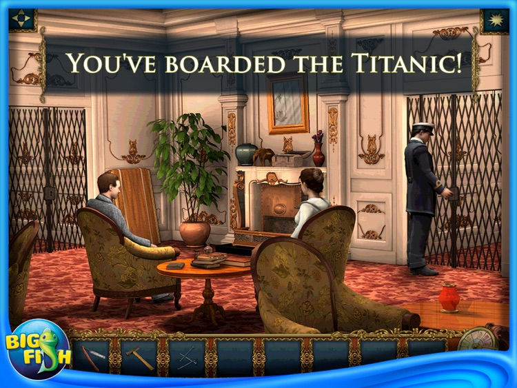 Return to Titanic: Hidden Mysteries HD - A Hidden Object Adventure screenshot-0