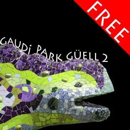 Park Güell 2, puzzle of Gaudí's famous park in Barcelona FREE