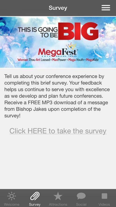 T D  Jakes MegaFest Conference App】应用信息- iOS App基本信息|应用