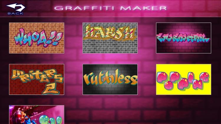 Graffiti Art Maker screenshot-4