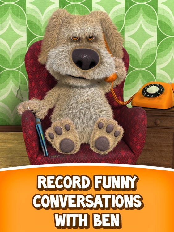 Talking Ben the Dog for iPad screenshot-3