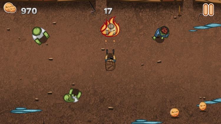 A Call of Slender Zombie: Mini Temple Defense Dead Apocalypse