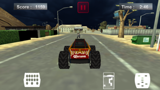 Zombie Demolition Outlaw - Monster Truck Driving Game for Free screenshot one