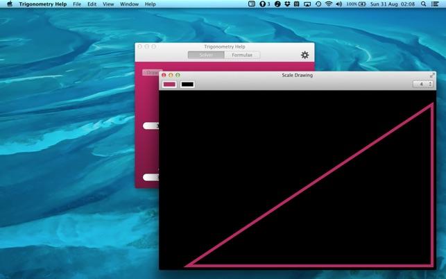 Trigonometry Help - Triangle Solver + Formulae on the Mac App Store