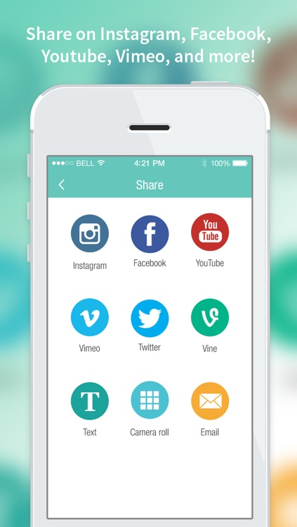Videolab video editor for Vine, Instagram, Youtube screenshot-4