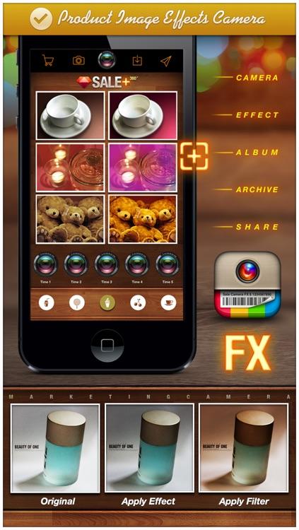 SALE Camera - marketing camera effects plus photo editor screenshot-3