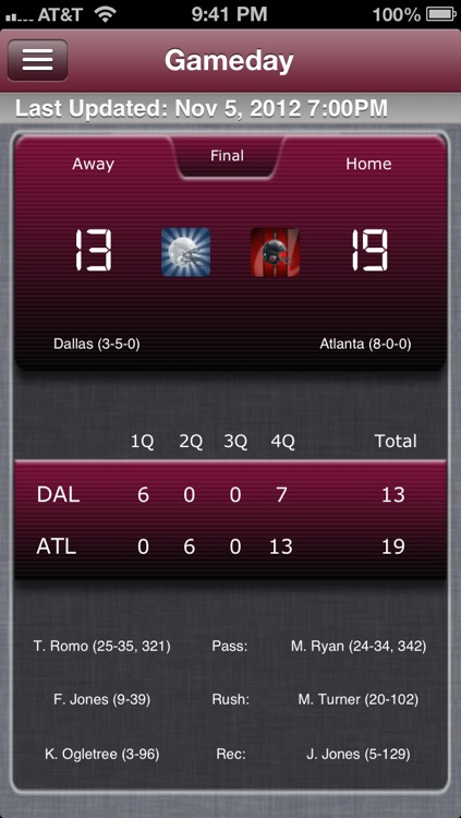 Atlanta Football Live screenshot-0