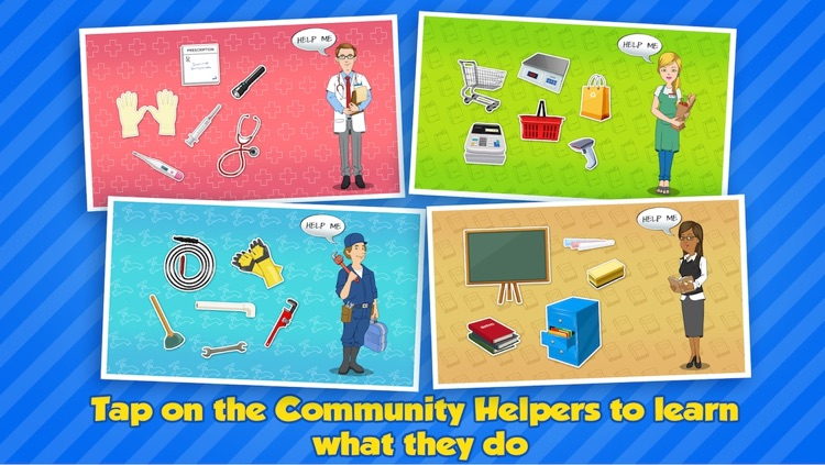Community Helpers Play & Learn: Educational App for Kids screenshot-4