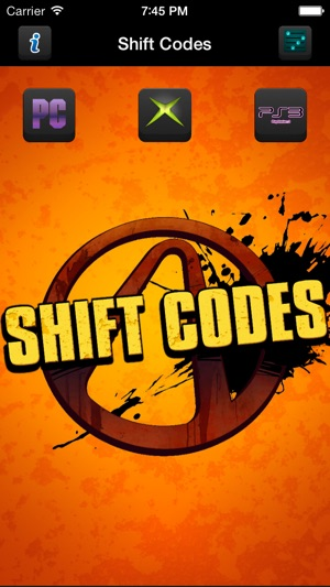 Shift Codes for Borderlands 2 on the App Store