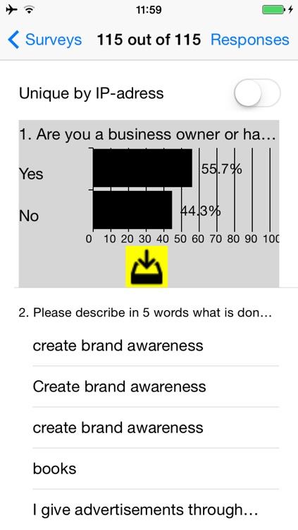 Obsurvey - surveys made easy screenshot-4