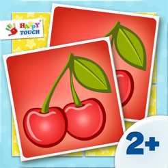 Activity Matching Cards: Delicious Food Pairs - Matching Game - Kids Apps for toddlers and preschool...