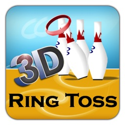 Ring Toss 3D - Top Touch Strategy Flick Arcade Family Fun Simulation Game