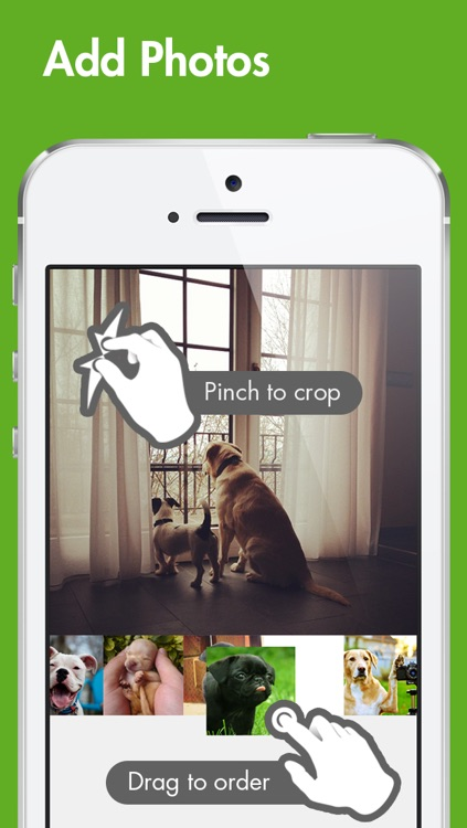 PicFlow - photo slideshow video maker for Instagram