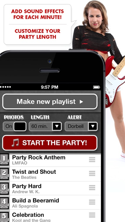 Ali's Power Album: Hour Party Playlist Maker screenshot-3