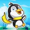 Adventures in Ice World - Happy Hoppy Penguin