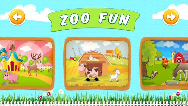 ZooFun Free - Animal Sounds and Matching Game for Kids screenshot-3