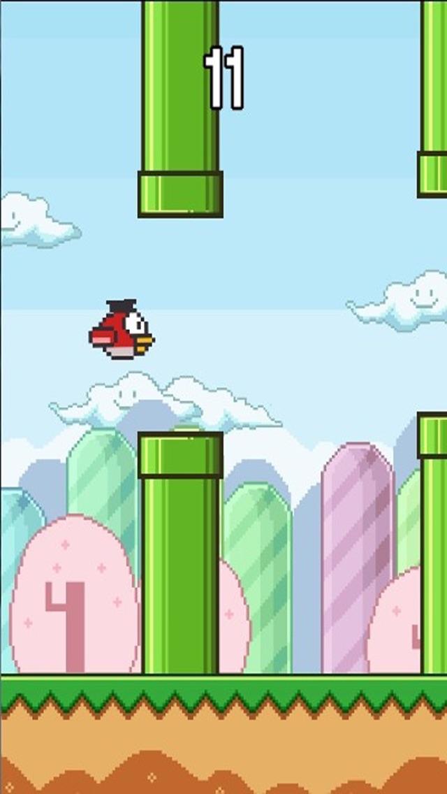 Happy Bird Deluxe Screenshot on iOS