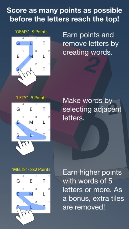 Letterdrop Word Game