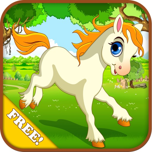 Baby Horse Run : My Cute Pony and Little Birds 2