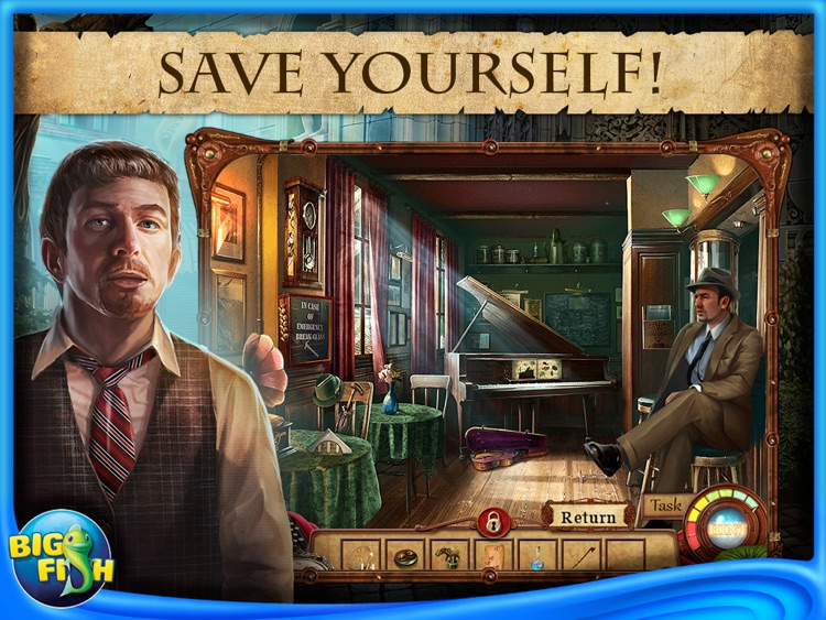 Punished Talents: Seven Muses HD - A Hidden Objects, Adventure & Mystery Game screenshot-2