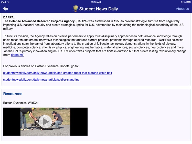 Student News Daily screenshot-4