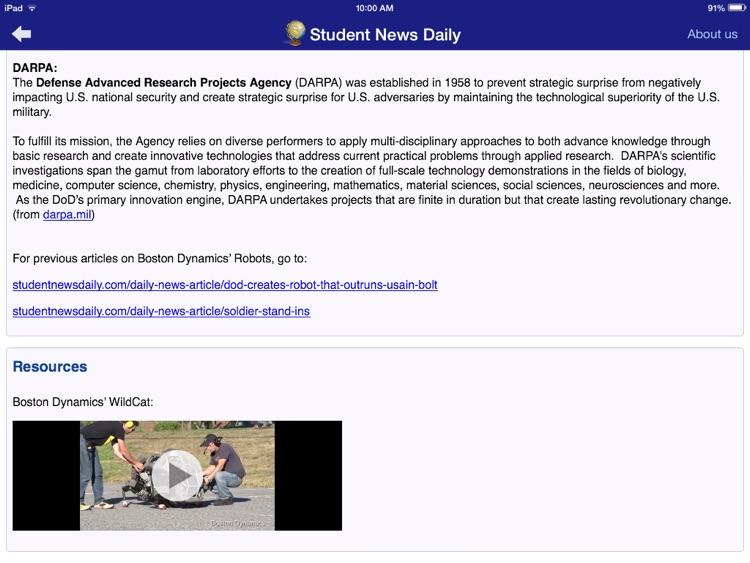 Student News Daily screenshot-4