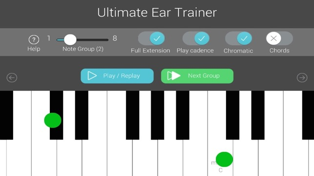 Ultimate Ear Trainer Screenshot
