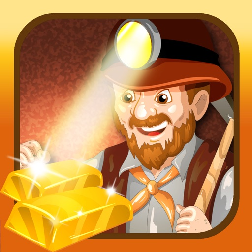 Gold Mining Prospector Game Free icon