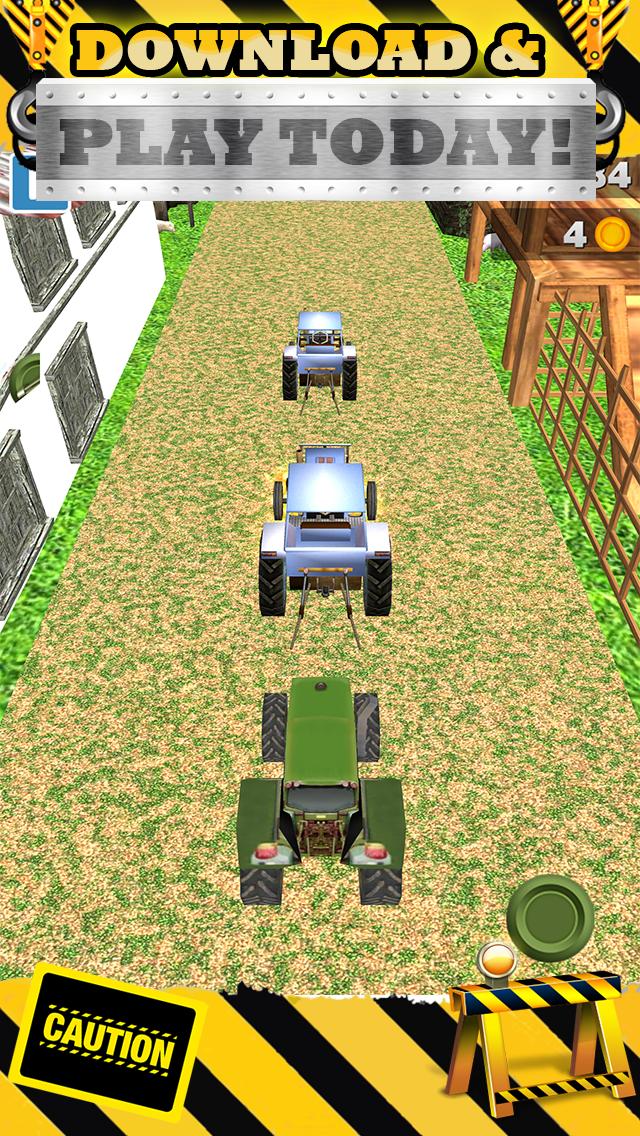 無料で恐ろしい男の子と子供のためのトップファームレースゲームで3Dトラクターレースゲームのおすすめ画像5