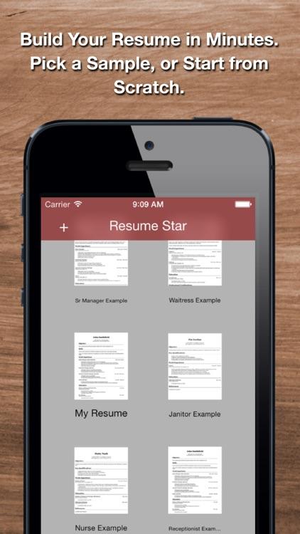 Resume Star: Pro CV Maker