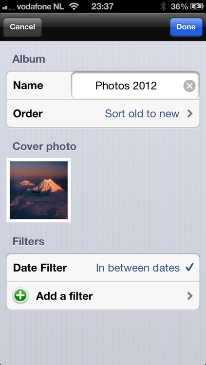 Smart Photo Album - Unlimited Tags, Filters and Albums screenshot-4