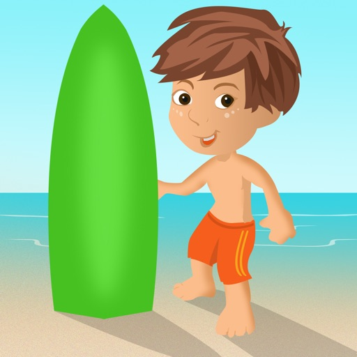American Surfer Boy Racing Adventure - cool speed racing arcade game