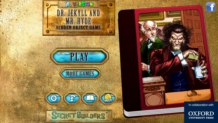 Hidden Object Game Jr FREE - Dr. Jekyll and Mr. Hyde screenshot-4