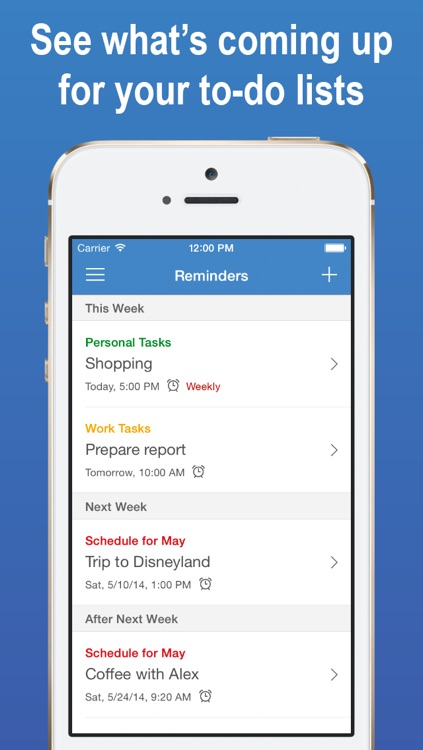 InnerList – Task & To-do List, Notes, People Manager, & Reminder App screenshot-3