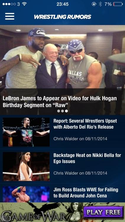 Wrestling Rumors