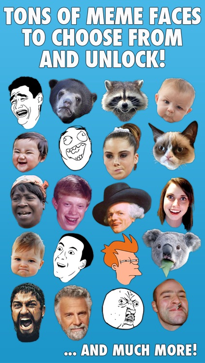 Meme Photo Booth - Comic Face Stickers and Funny Memes screenshot-3