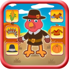 Activities of Thanksgiving Turkey Dressing Up Game For Kids