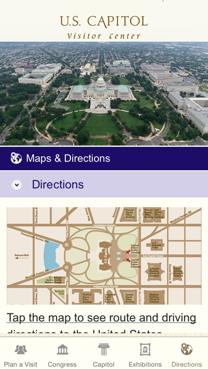 U.S. Capitol Visitor Guide screenshot-4