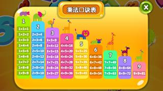 乘法达人-王颖教育法之儿童快速记忆乘法口诀学习游戏 screenshot two