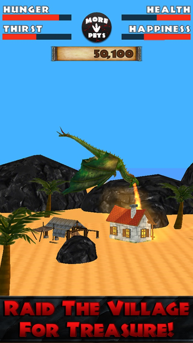 Virtual Pet Dragon Screenshot 2