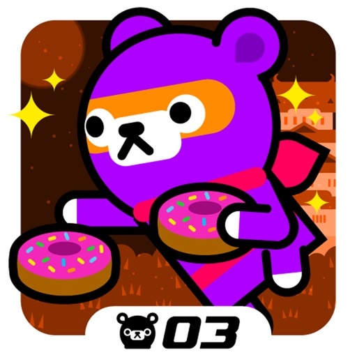 Donut Ninja - Tappi Bear Review